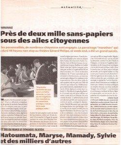 1998 parainage au théâtre Gérard Philippe